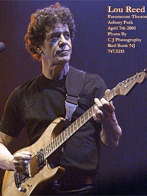 Lou Reed @ The Paramont Theatre