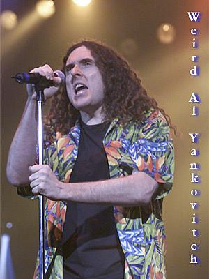 Weird AL @ The Count Basie Theatre
